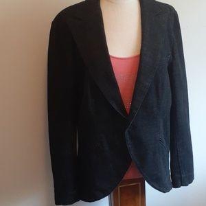 Lauren Jeans Ralph Lauren Black Denim Blazer Sz XL